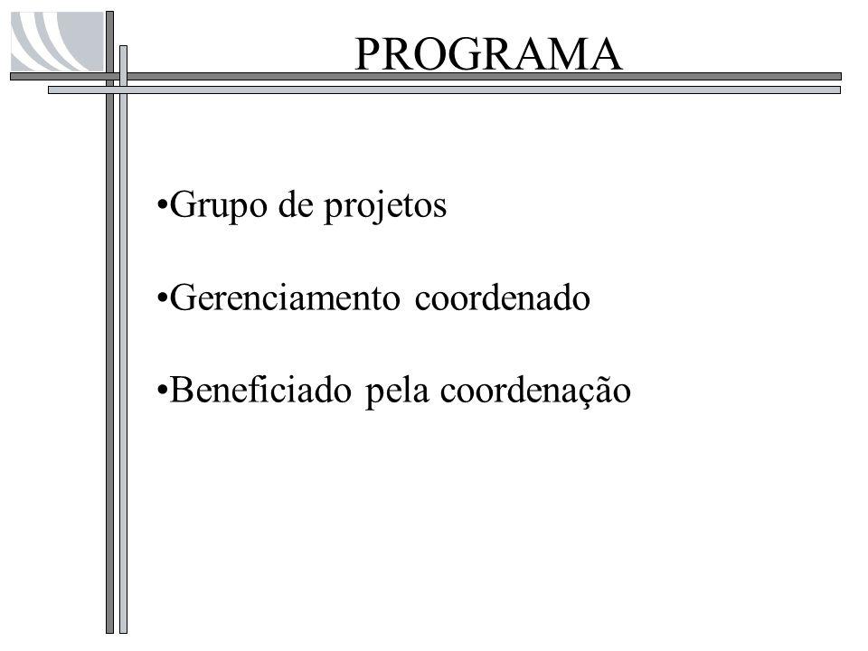 ESCRITÓRIO DE PROJETOS - PMO Definir políticas, metodologias e templates de Gerenciamento de Projetos Dar suporte e treinamento em Gerenciamento de Projetos Disponibilizar Gerentes de Projeto e gerenciar Projetos