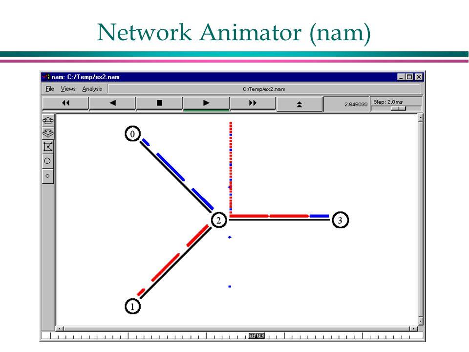 Network Animator (nam)