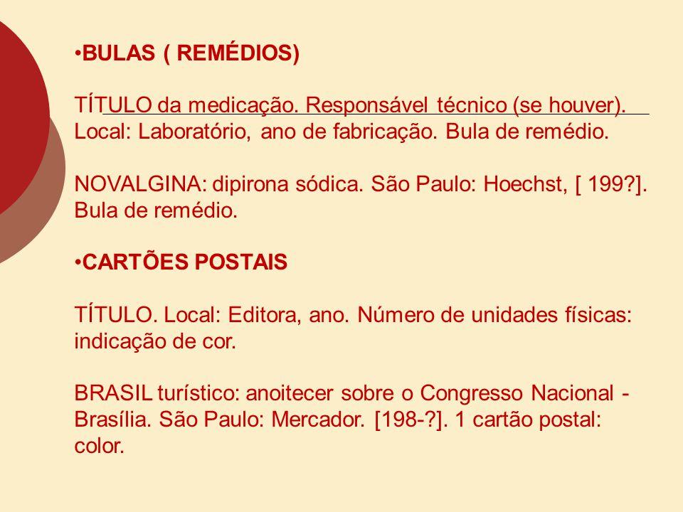 CONVÊNIOS NOME DA PRIMERA INSTITUIÇÃO.Título. local, data.