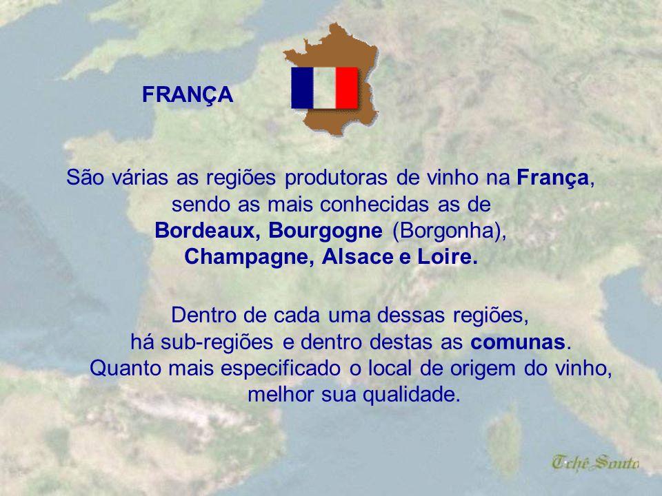 . VIN DELIMITÉ DE QUALITÉ SUPÉRIEURE – VDQS – vinhos que estão quase no status superior (AOC), em geral produzidos em pequenas regiões e sob critérios