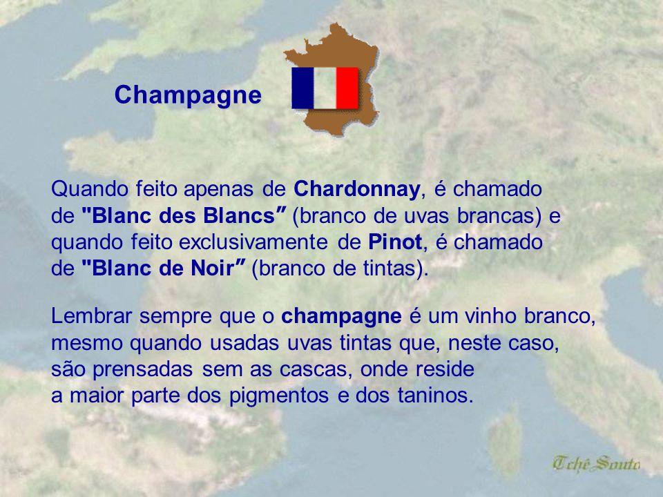 . Champagne é a região que dá nome ao verdadeiro espumante. Várias outras regiões do mundo e da própria França produzem espumante, mas só a Champagne