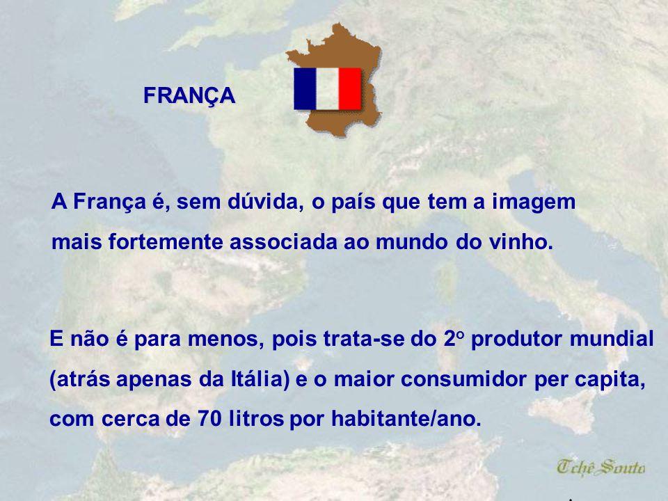 Há ainda outras regiões importantes, como a Sicília, a Umbria e o Lácio.. Os vinhos italianos são classificados em DOCG (Denominação de Origem Control