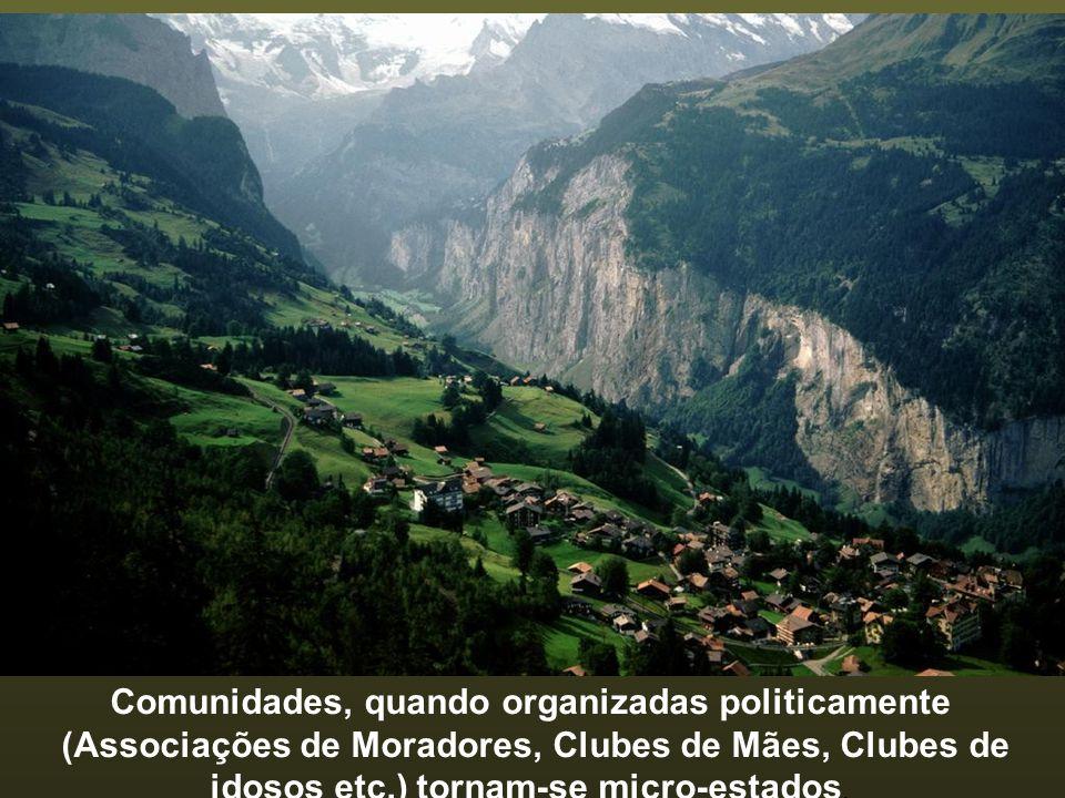 Solução-síntese: transformar a consciência do brasileiro. O processo deve ter início nas comunidades - é onde vive e convive o cidadão