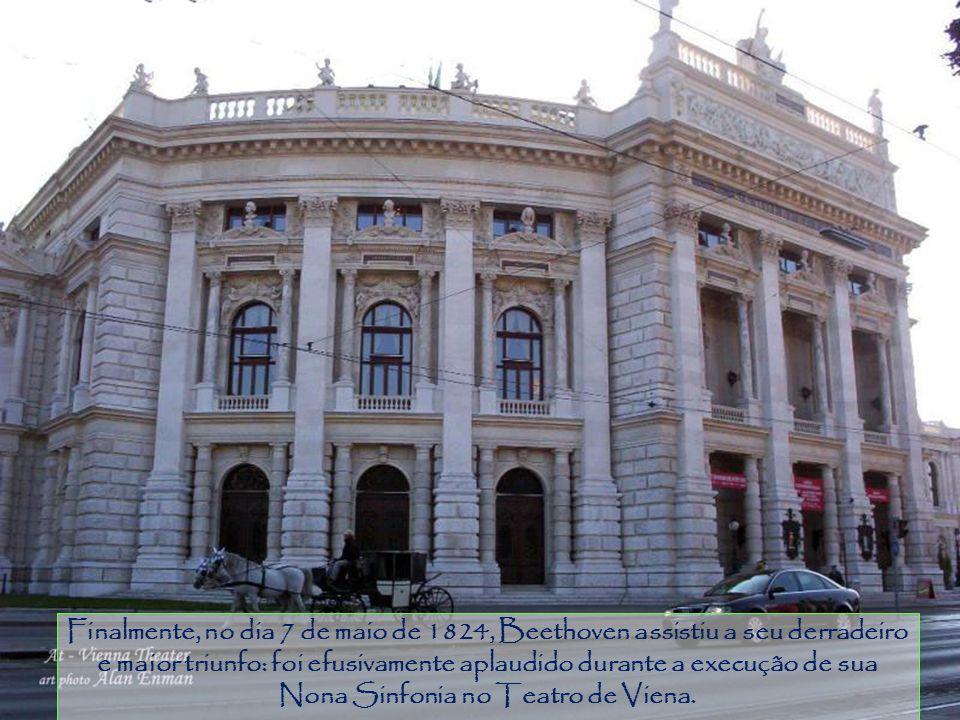Piracicaba Hoje, 2 Pfarrplatz, à época esta foi a casa - Schlöglisches Haus – em que Beethoven se hospedou desde o início do verão de 1817, enquanto t