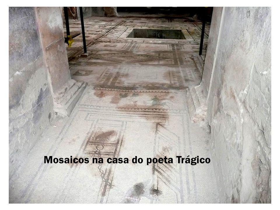 Pinturas nas paredes da casa dos Vetios