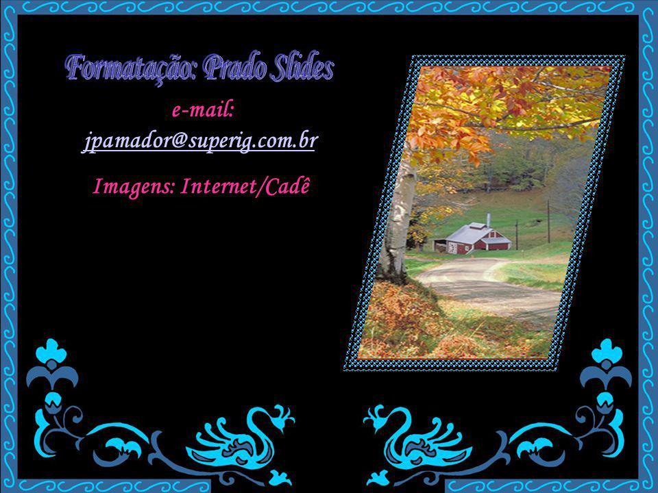 e-mail: jpamador@superig.com.br jpamador@superig.com.br Imagens: Internet/Cadê