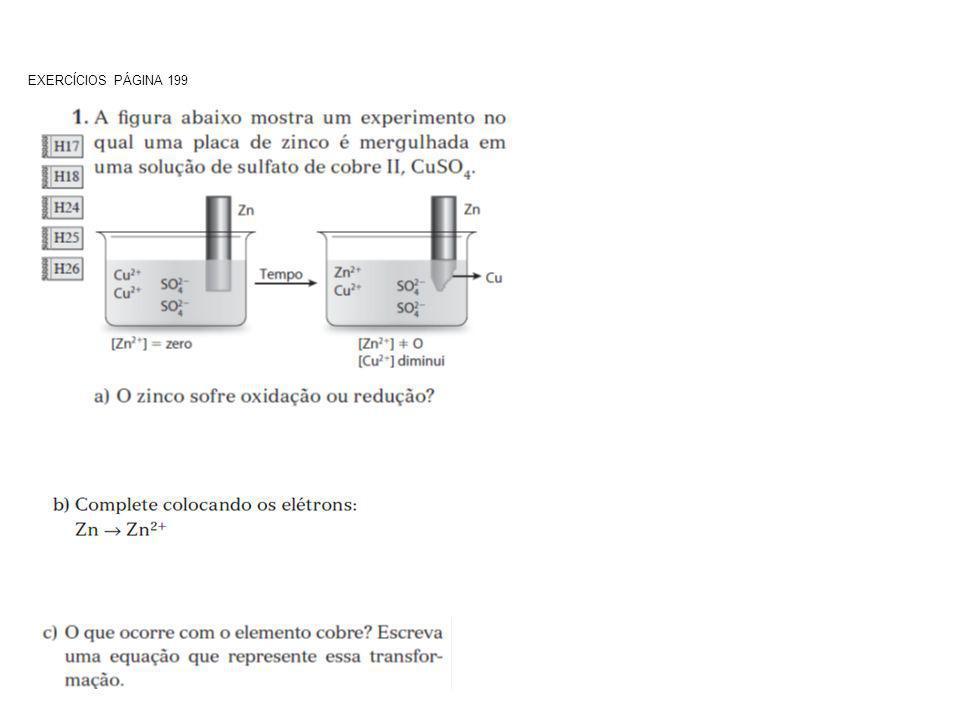EXERCÍCIOS PÁGINA 199