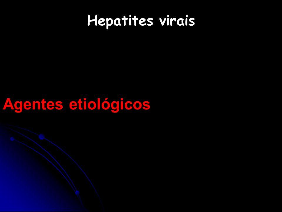 Hepatites virais Agentes etiológicos