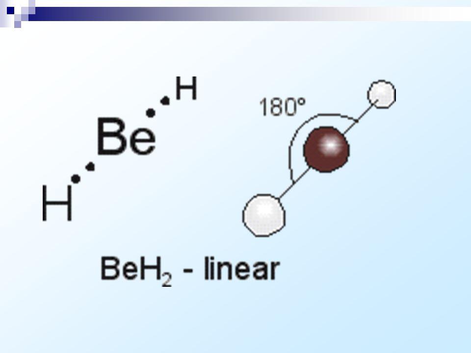 Geometria Molecular : Tipo de Molécula Geometria X 2 e XY linear (toda molécula biatômica é linear) XY 2 linear se X é da família 6A: angular XY 3 tri