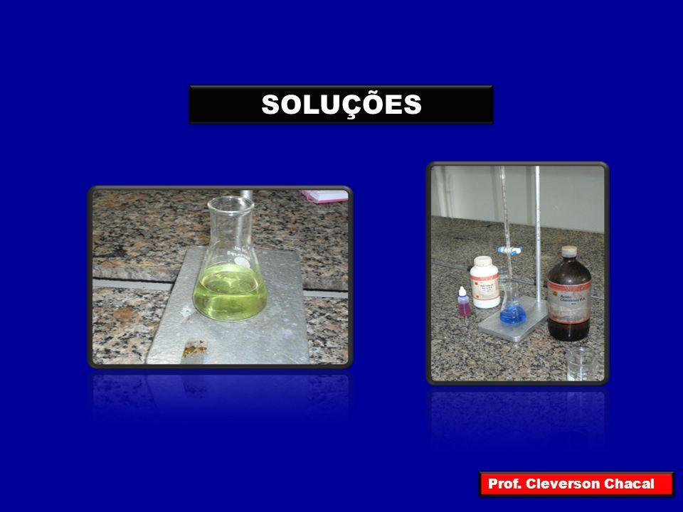 Quando juntamos duas espécies químicas diferentes e, não houver reação química entre elas, isto é, não houver formação de nova(s) espécie(s), teremos uma MISTURA Prof.