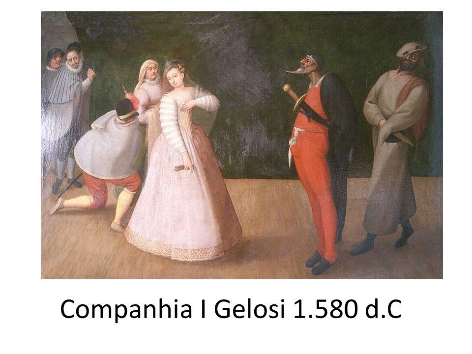 Destaca-se o ator e autor Padovano, Ângelo Beolco (1502-1542), conhecido por interpretar Ruzante, um camponês, guloso, grosseiro preguiçoso, ingênuo e zombador.