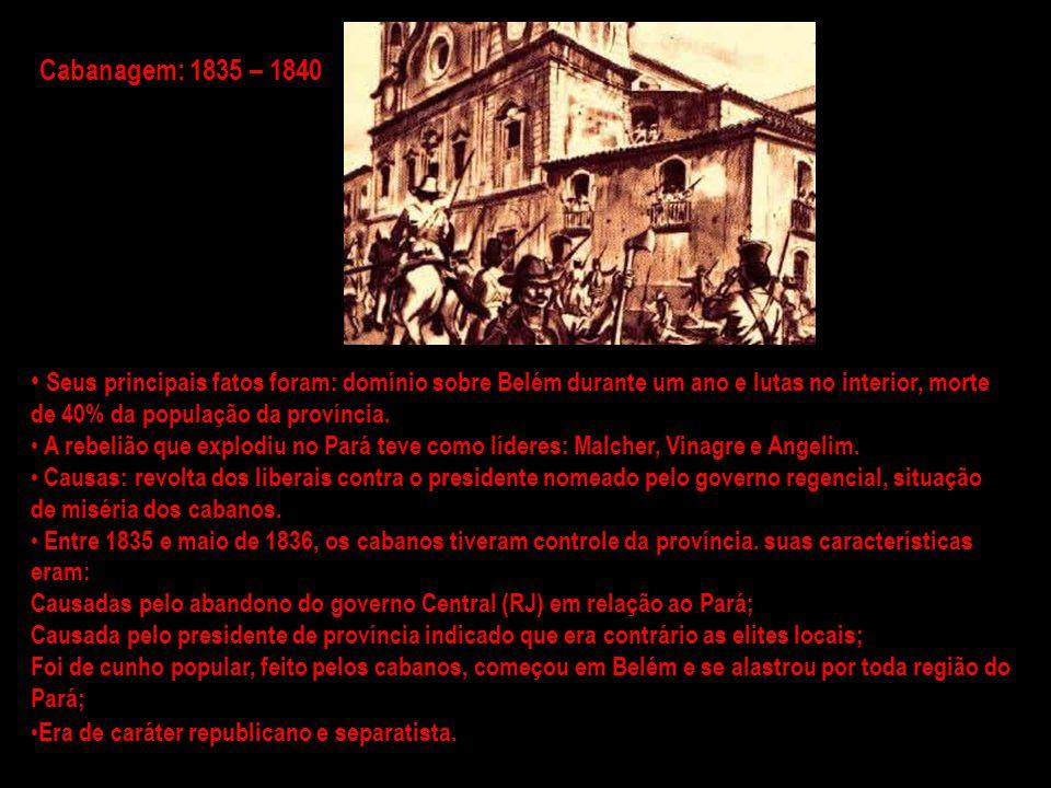 A rebelião que ocorreu em Salvador, Bahia teve esse nome pois seu líder foi o médico Francisco Sabino.