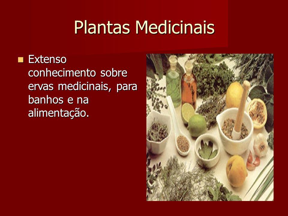 Plantas Medicinais Extenso conhecimento sobre ervas medicinais, para banhos e na alimentação. Extenso conhecimento sobre ervas medicinais, para banhos
