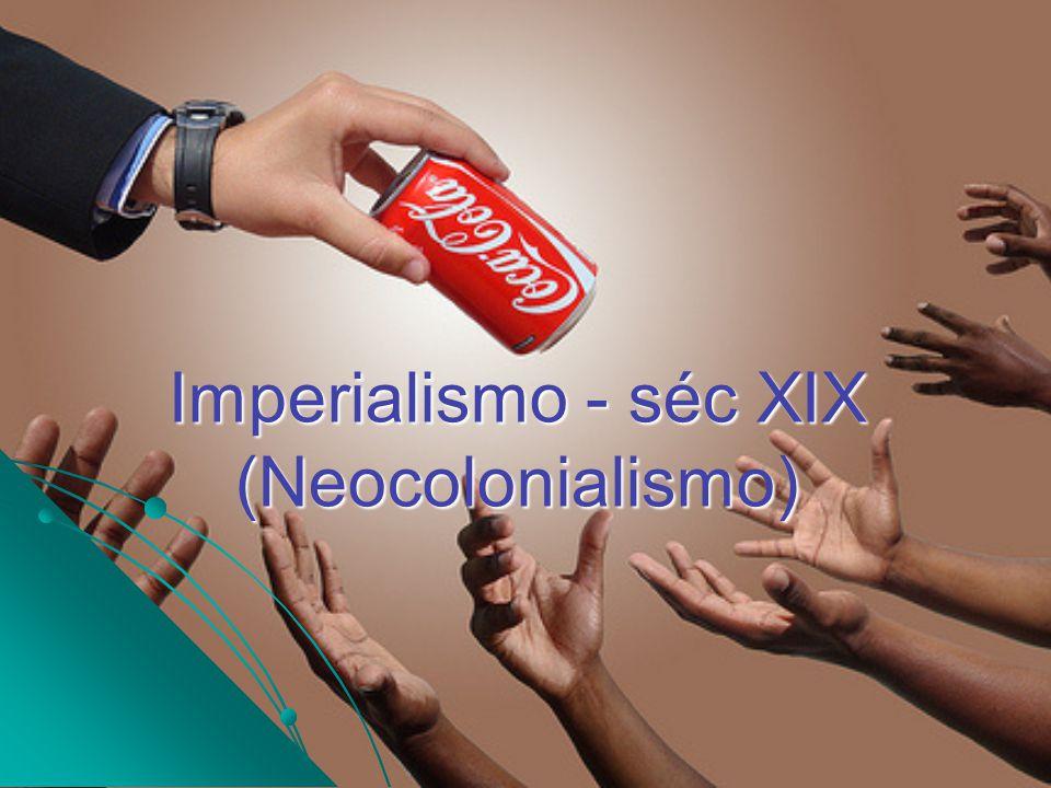 Imperialismo - séc XIX (Neocolonialismo) EUA X México (1846 – 1848): EUA X México (1846 – 1848): Guerra da Secessão (1861 – 1865): Guerra da Secessão (1861 – 1865): 1846 Invasão dos EUA no México para salvar a república independente do Texas.