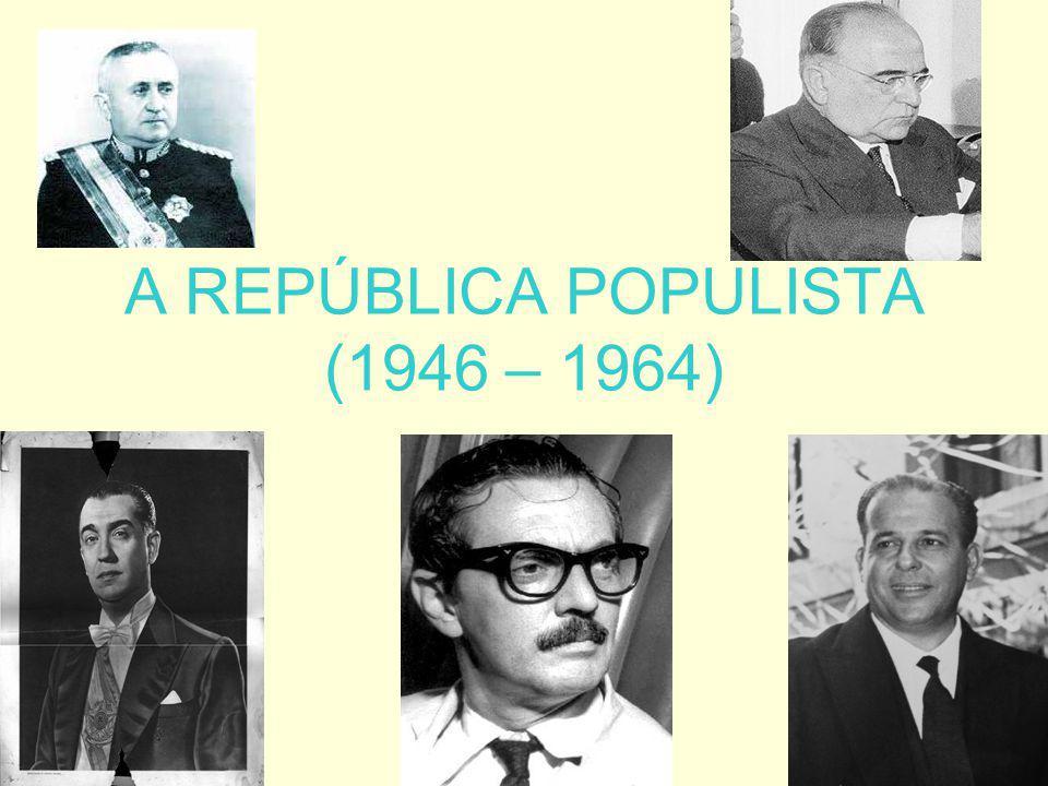 O GOVERNO JOÃO GOULART (1961 – 1964) As Ligas Camponesas e as pressões pela reforma agrária.