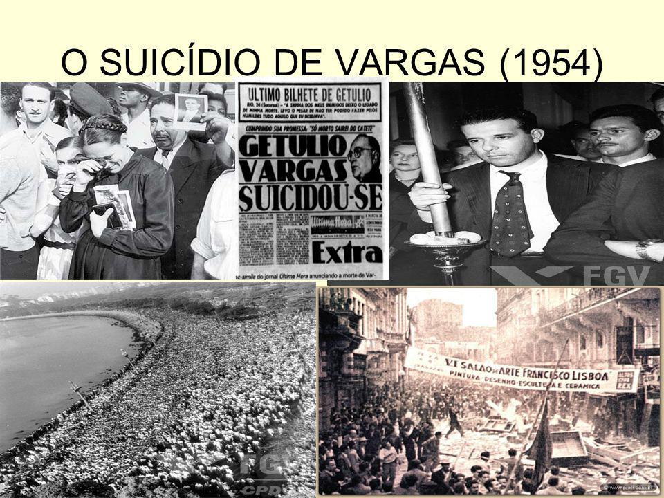 O GOVERNO JOÃO GOULART (1961 – 1964) Manutenção da política externa independente – reatou relações diplomáticas com a URSS, não apoiou a invasão sobre Cuba e criticou o governo cubano na crise dos Misseis.