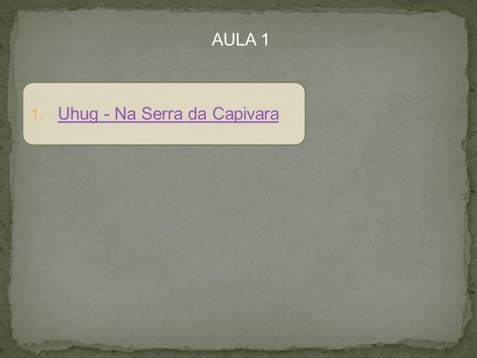 AULA 1 1. Uhug - Na Serra da Capivara Uhug - Na Serra da Capivara