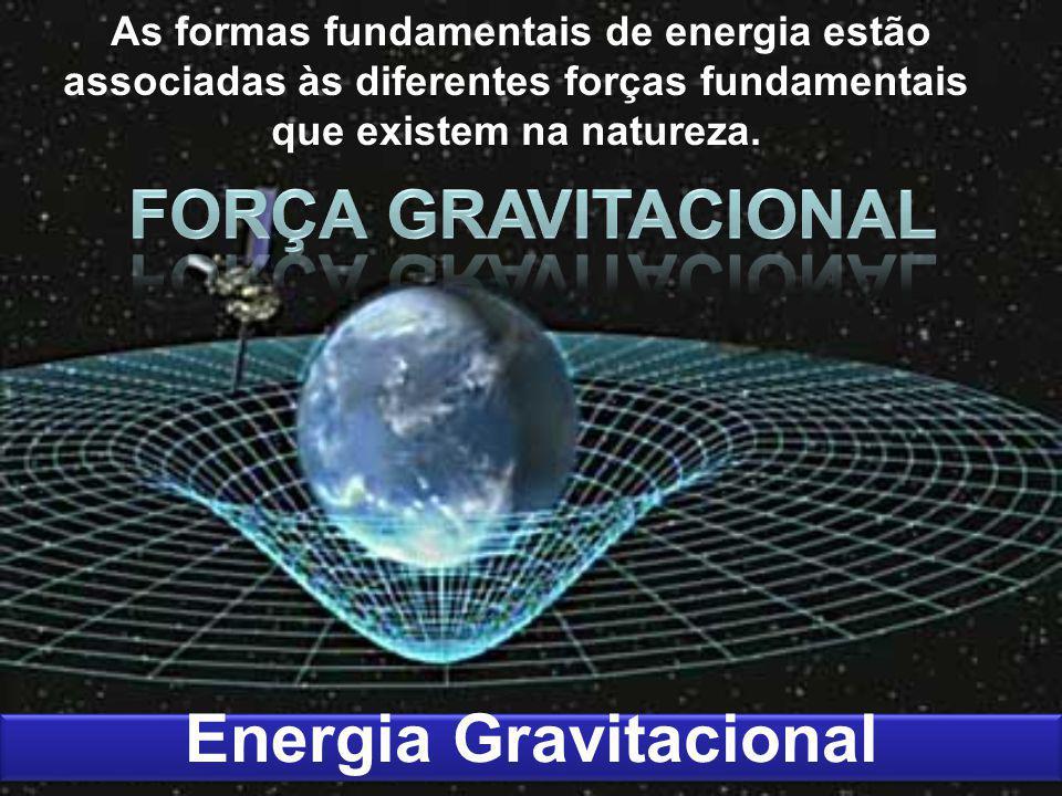 As formas fundamentais de energia estão associadas às diferentes forças fundamentais que existem na natureza. Energia Gravitacional