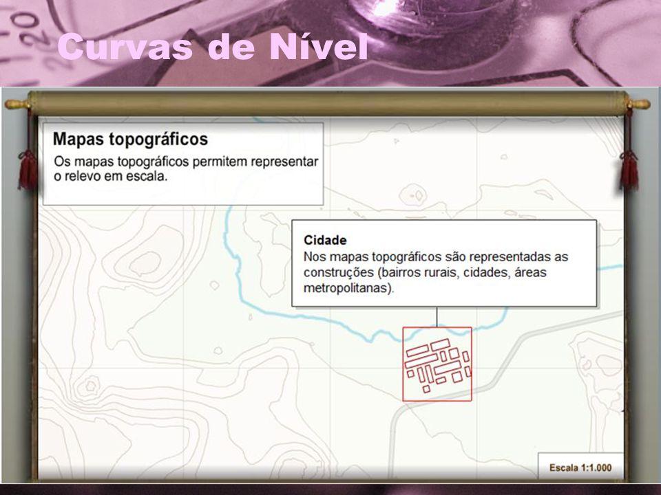 Projeções Cartográficas Projeção Cilíndrica; Projeção Cônica; Projeção Plana ou Polar.