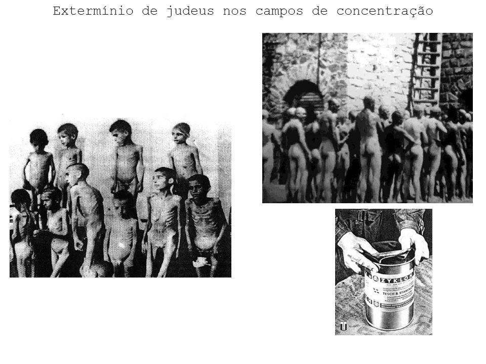 Extermínio de judeus nos campos de concentração