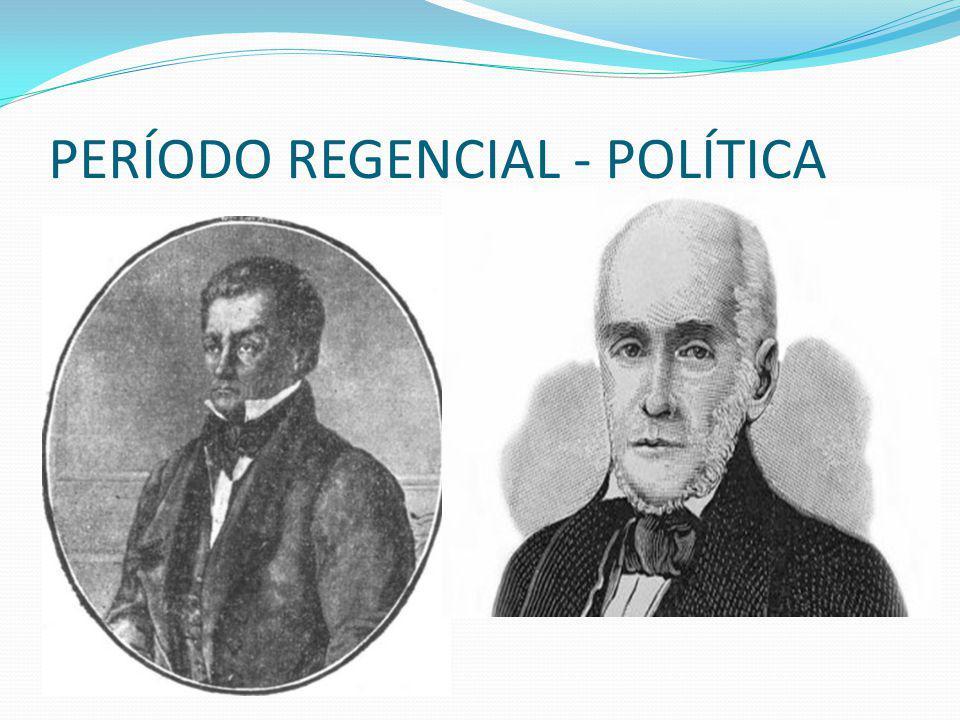 A Reação Conservadora (1837 – 1840) O país é marcado por várias rebeliões, como a Cabanagem no Pará e a Guerra do Farrapos no Sul.