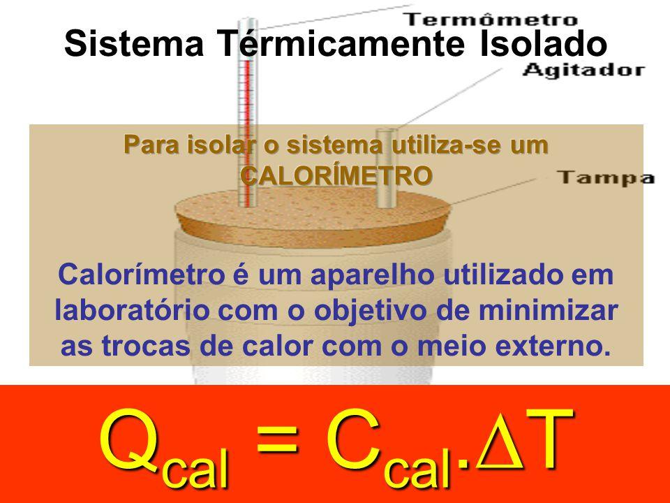 Q cal = C cal. T