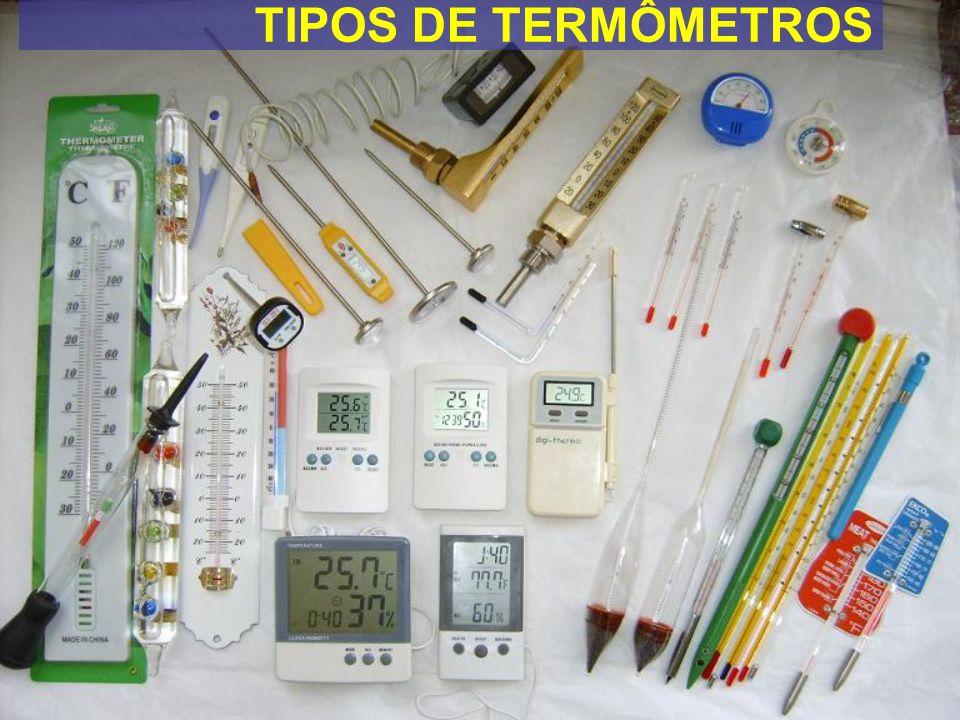 TIPOS DE TERMÔMETROS