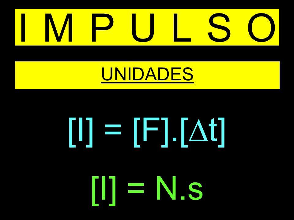 IMPULSO UNIDADES [I] = [F].[ t] [I] = N.s