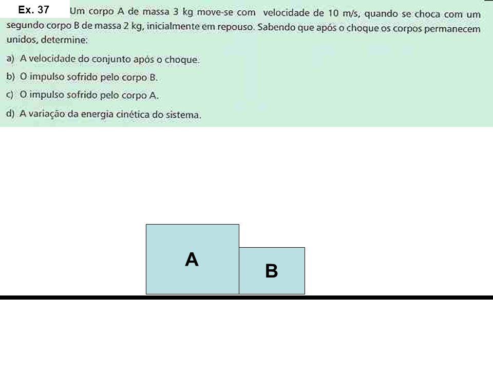 B A 90 – 150 = - 60J 12 N.s - 12 N.s 6m/s