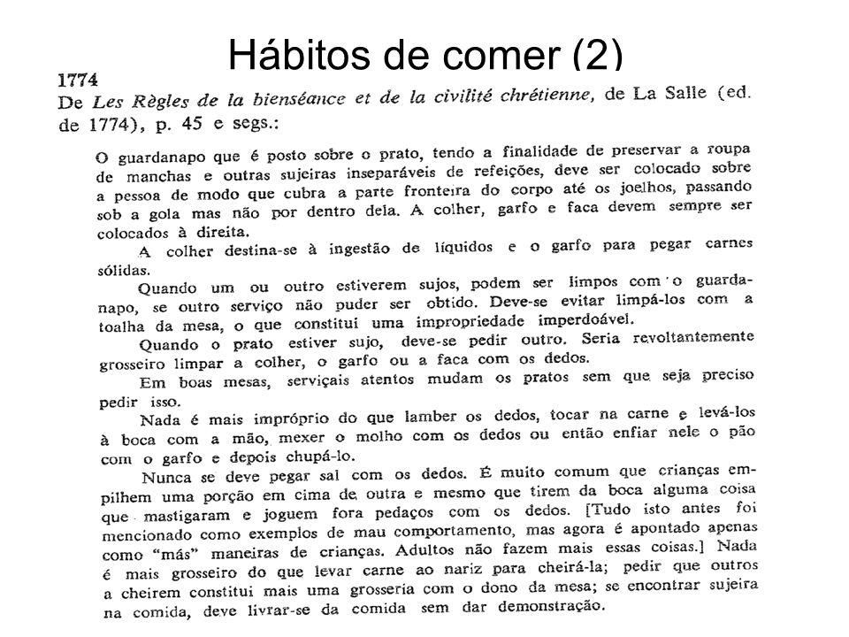 Hábitos de comer (2)