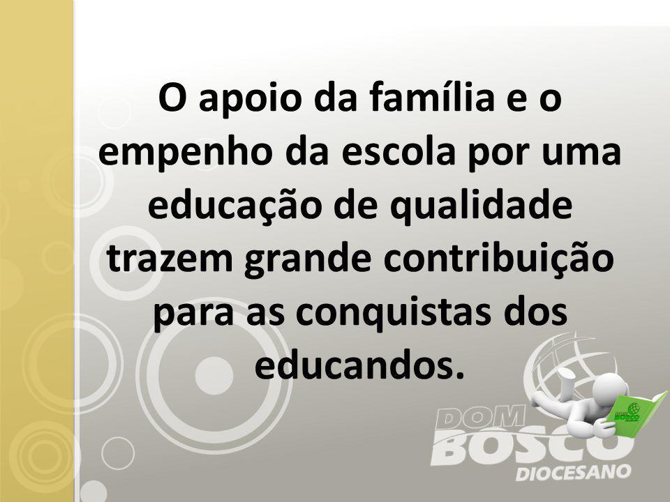 Estrofes do Hino do Colégio Dom Bosco (Letra e música de Pe.