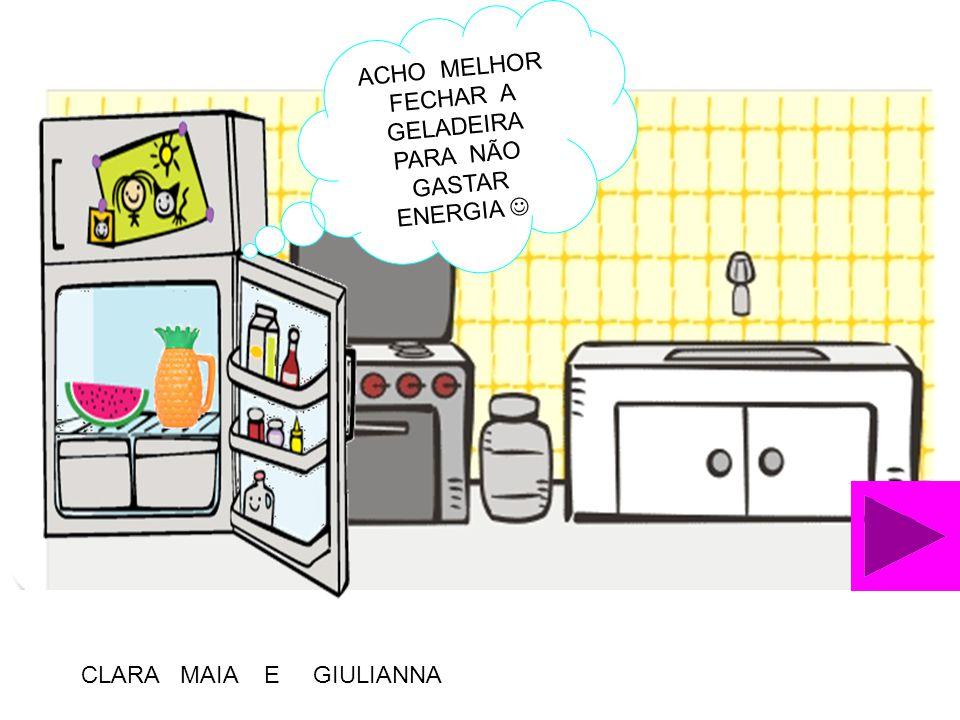 Não deixar a torneira pingando! Maria Eduarda