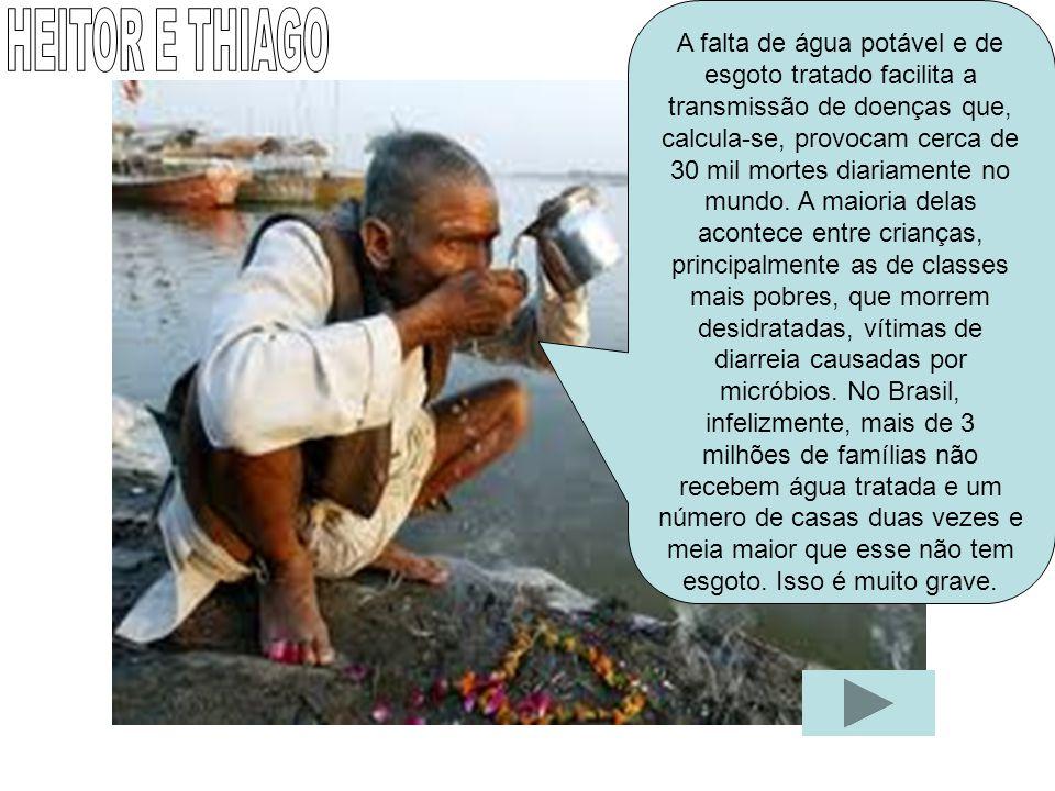 O petróleo, o óleo, e o lixo poluem a água. Os peixes e outros seres vivos, mesmo se desenvolvendo acabam contaminados e podem morrer. CLARA MAIA E GI