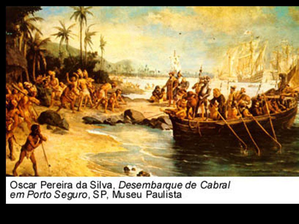 Cabral visitou alguns pontos do litoral para conhecer melhor e delimitar para saber se era uma ilha ou um continente