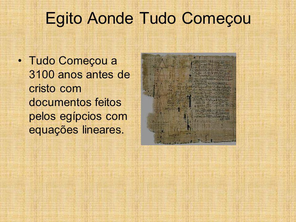 Historia Da Álgebra