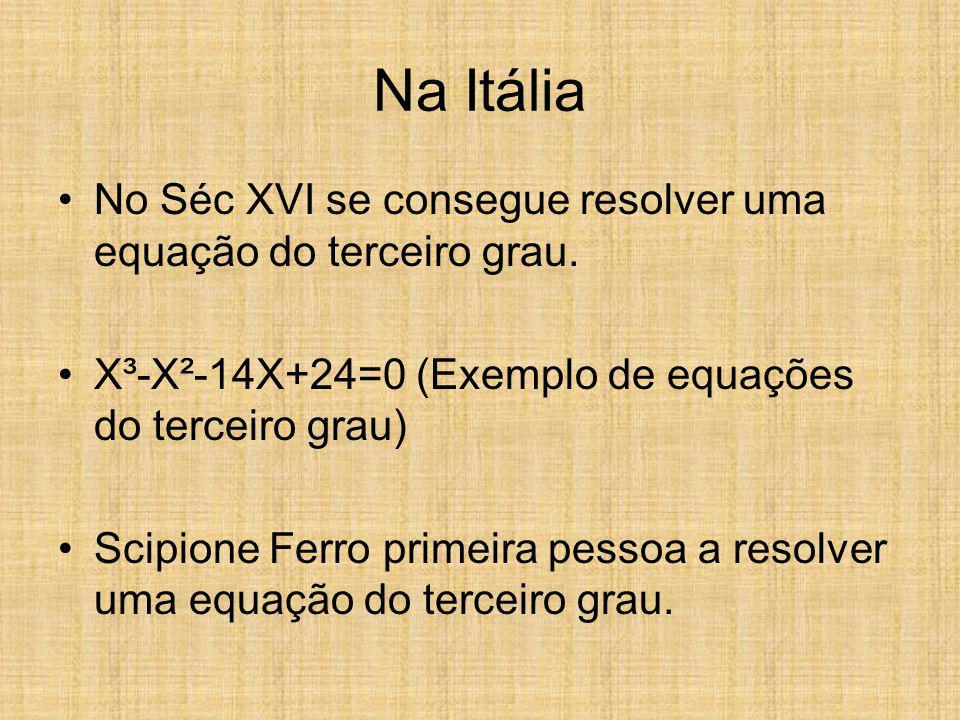 Teorema Fundamental da Álgebra Toda função algébrica de grau (n maior ou igual a 1) possui pelo menos uma raiz complexa. Toda equação algébrica de gra