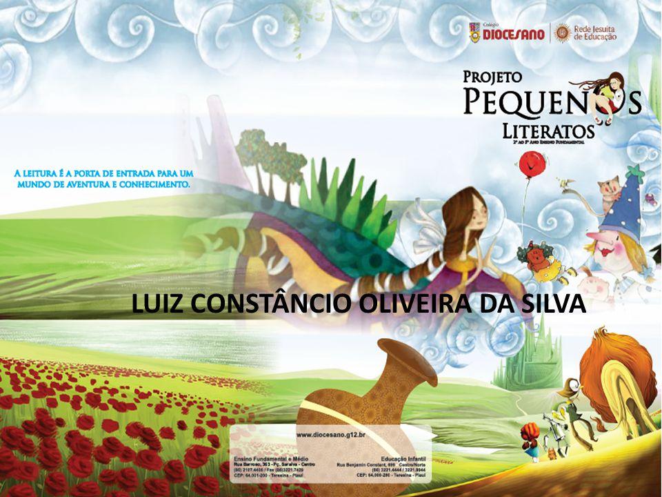 LUIZ CONSTÂNCIO OLIVEIRA DA SILVA