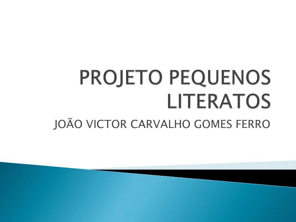 JOÃO VICTOR CARVALHO GOMES FERRO