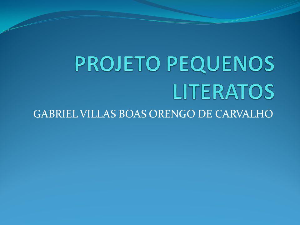 Gabriel villas Meu nome é Gabriel Villas-boas Orengo de carvalho tenho 11 anos, nasci em 06]08]02.