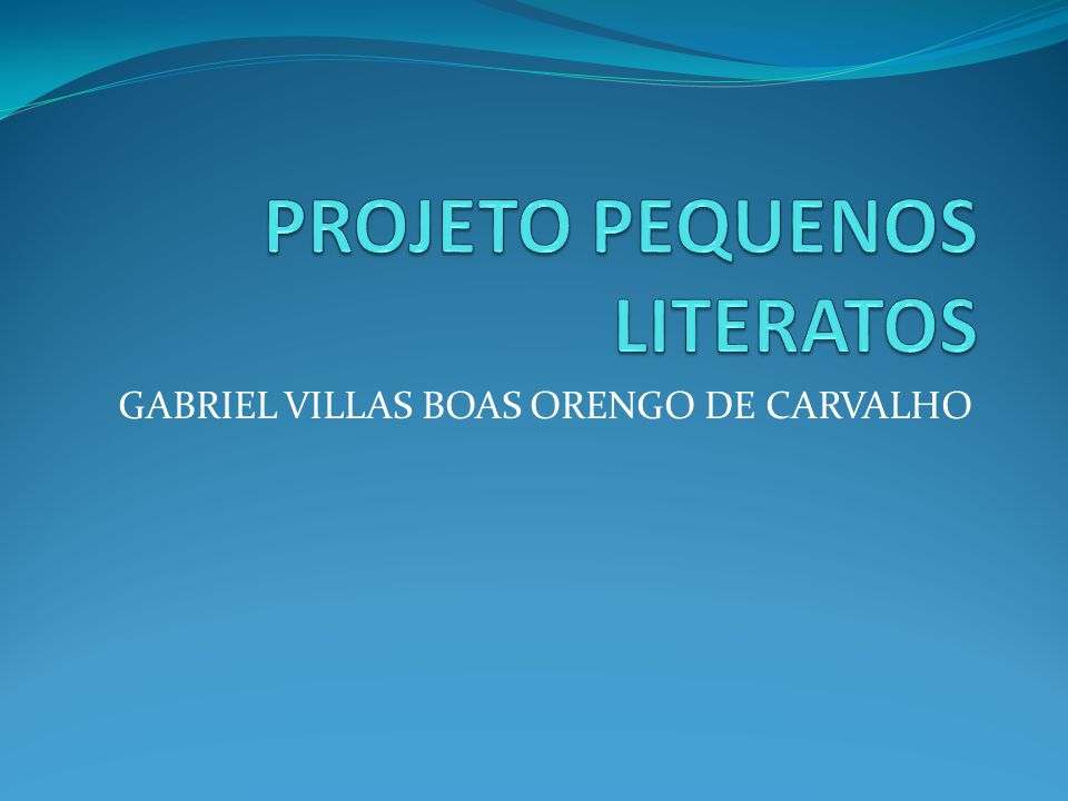 GABRIEL VILLAS BOAS ORENGO DE CARVALHO