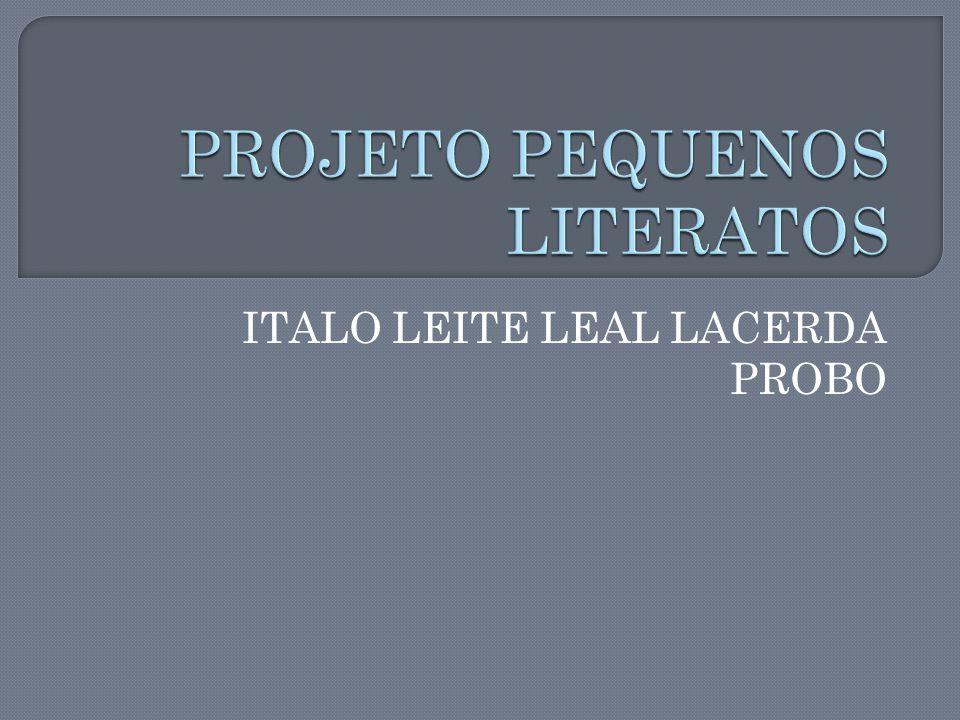 ITALO LEITE LEAL LACERDA PROBO