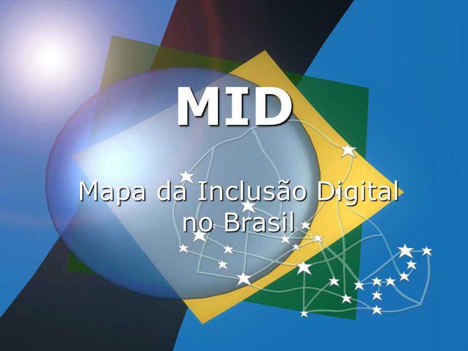 MID Mapa da Inclusão Digital no Brasil