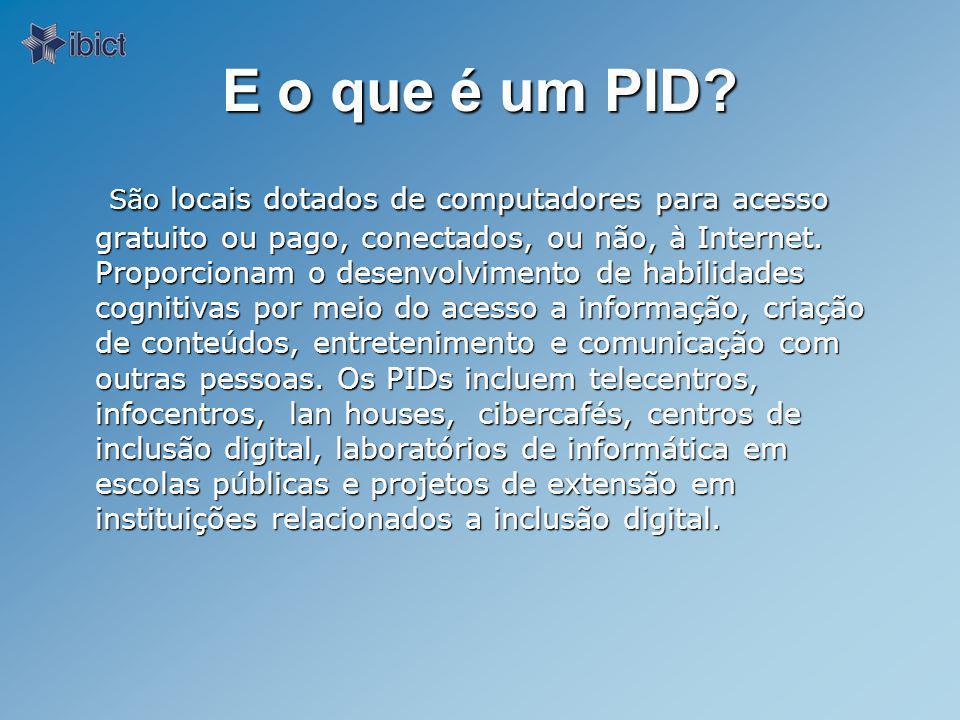 E o papel do Ibict.O Ibict atua como organizador de redes e serviços de informação.