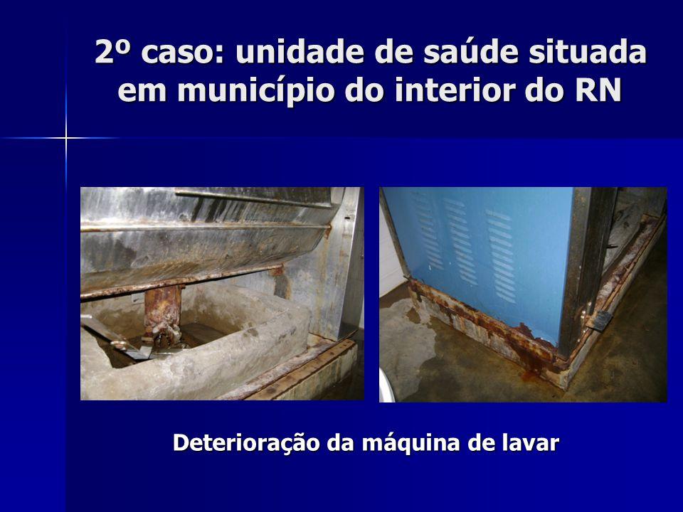 Risco de choque elétrico 2º caso: unidade de saúde situada em município do interior do RN