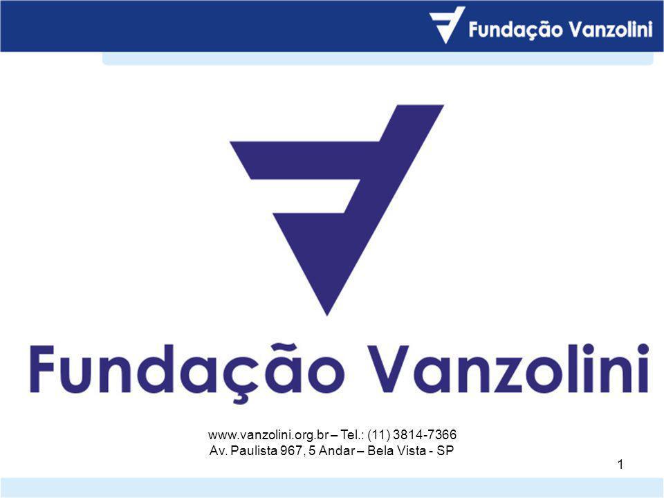 © Fundação Carlos Alberto Vanzolini – Airton Carlos Gonzalez 1 1 www.vanzolini.org.br – Tel.: (11) 3814-7366 Av.
