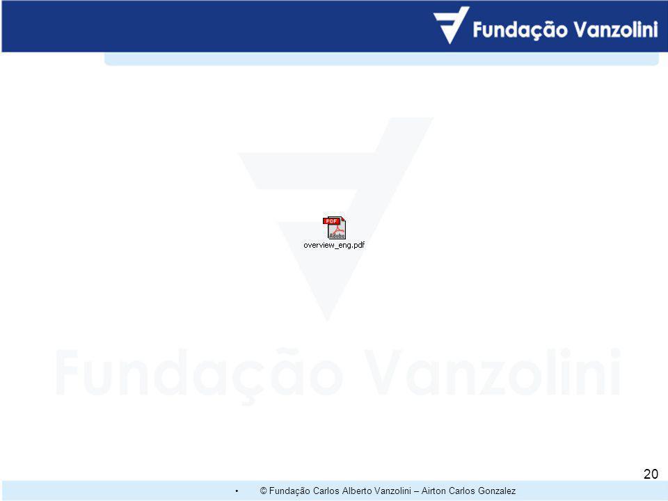 © Fundação Carlos Alberto Vanzolini – Airton Carlos Gonzalez 19