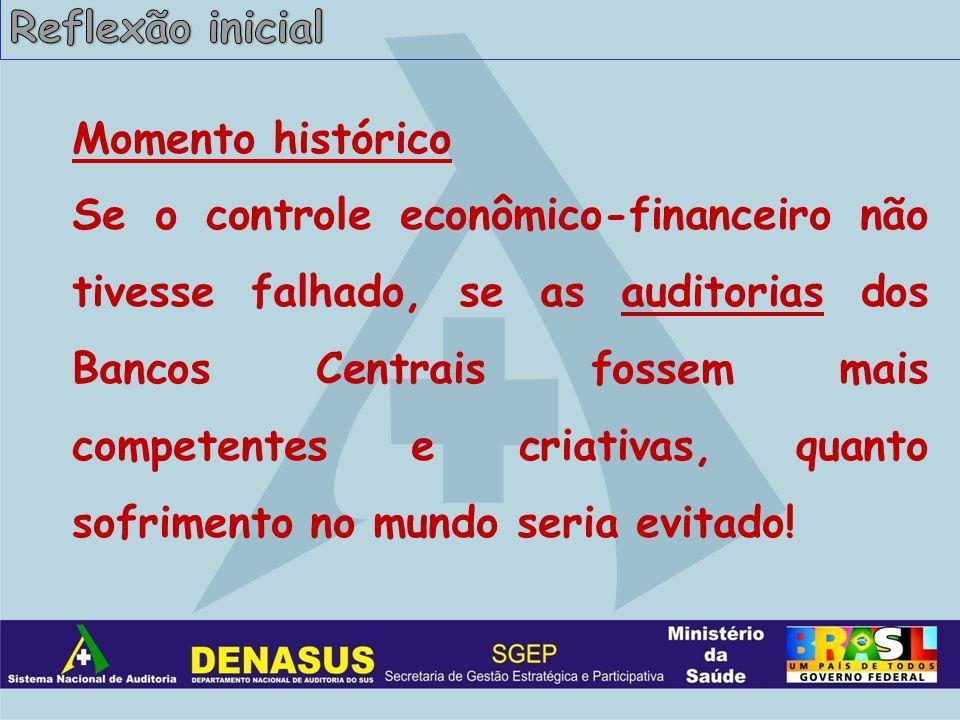 Auditores do SUS protagonistas do sistema de auditoria.