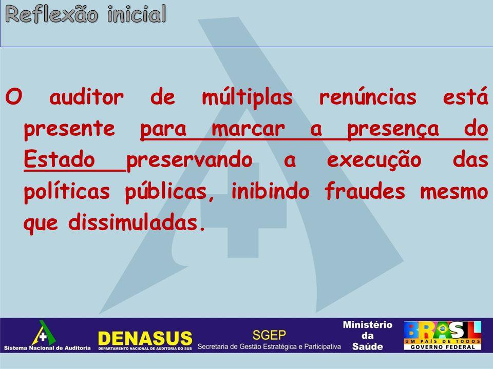 Demandas Externas Interação com os demandantes para operacionalização de ações de auditoria que dialoguem com os referenciais estabelecidos.