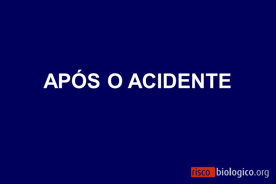 APÓS O ACIDENTE