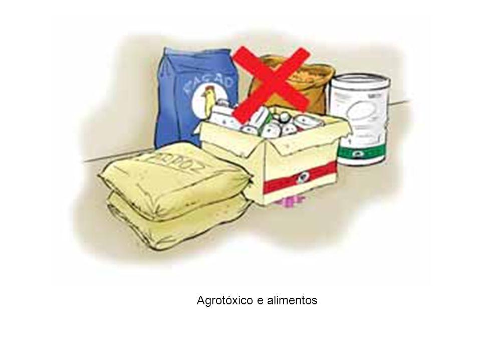 Agrotóxico e alimentos
